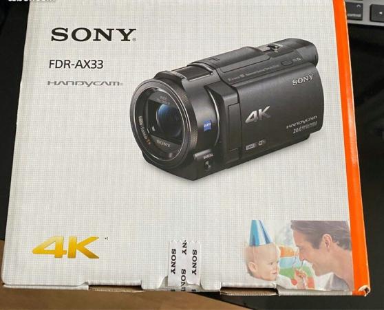 Sony fdr ax33 4k hdr