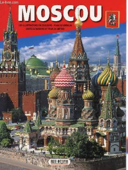 Vends livre sur Moscou