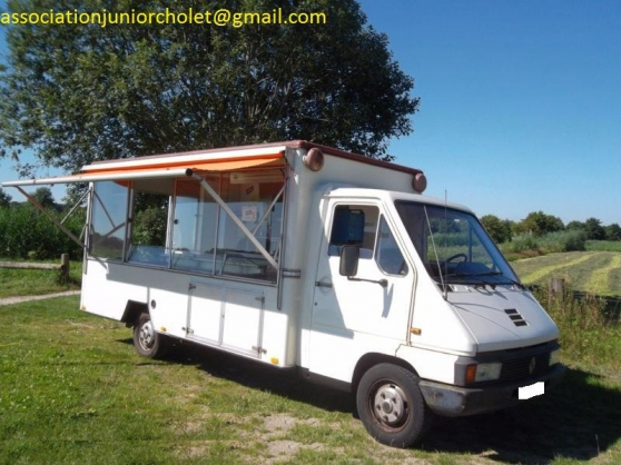 Camion pizza Renault Master