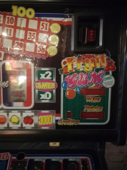 Machine à sous bubble gum Vintage noire - Photo 2