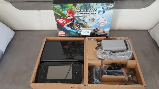 Annonce occasion, vente ou achat 'Vend Wii U + mario Kart 8 - Premium pack'