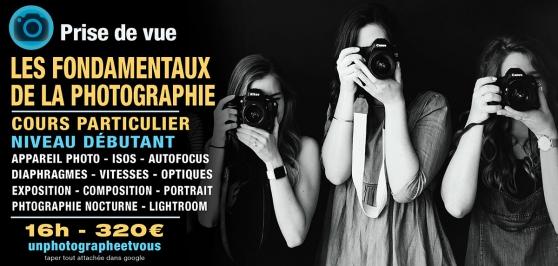 Annonce occasion, vente ou achat 'Cours Les Fondamentaux la Photographie'