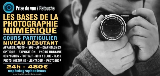 Annonce occasion, vente ou achat 'Les Bases de la Photographie Numerique'