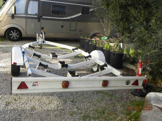 remorque bateau PTAC 750 kg. - Photo 2