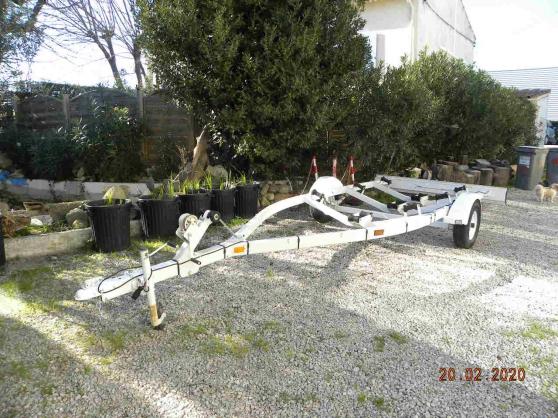 remorque bateau PTAC 750 kg. - Photo 3