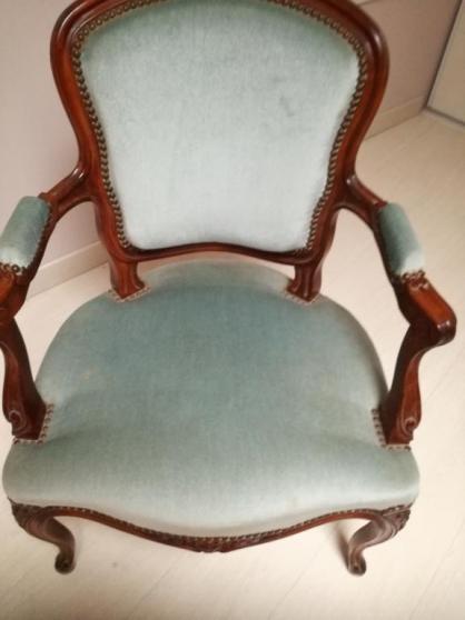 Annonce occasion, vente ou achat 'fauteuil merisier'