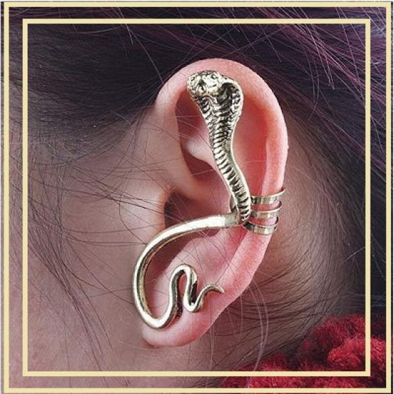 Annonce occasion, vente ou achat 'Boucle d\'oreille serpent à clip'