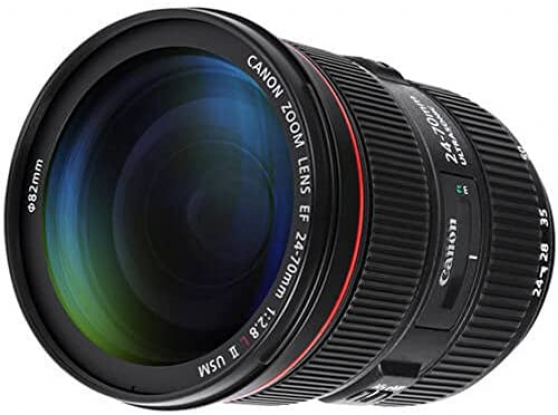 Annonce occasion, vente ou achat 'Objectif Canon EF 24-70 mm f/2.8 L II US'