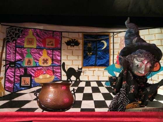 spectacle de marionnettes enfants NOEL