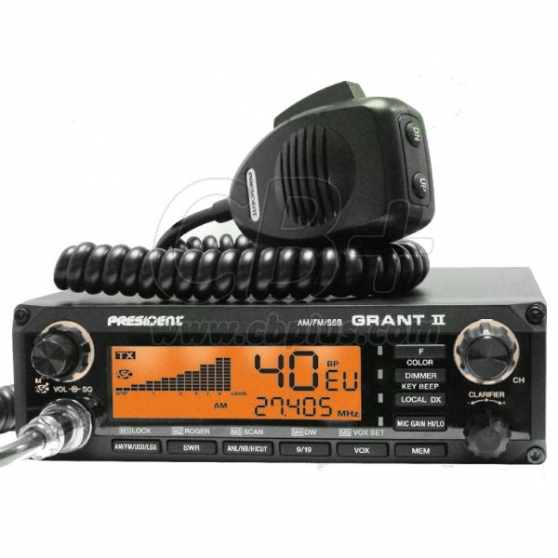 Annonce occasion, vente ou achat 'NEUF radio CB President Grant 2'