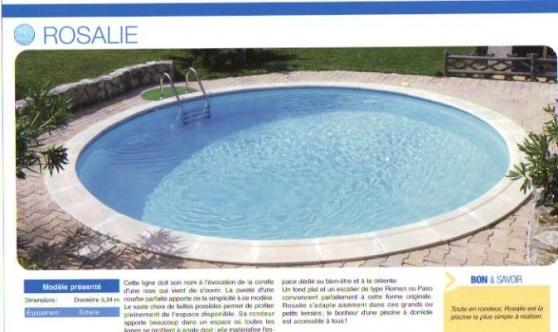 Liner pour piscine ronde