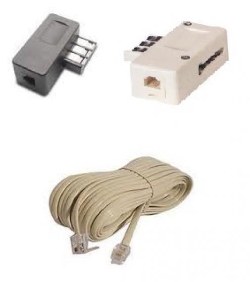 CORDON de RACCORDEMENT ADSL / TELEPHONE
