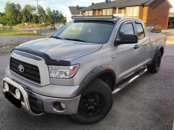 Mettons en vente notre Toyota Tundra
