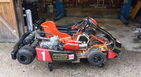 Annonce occasion, vente ou achat 'kart 125cc boite six'