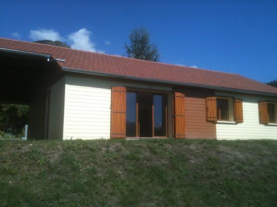 villa neuve en bois bbc - Annonce gratuite marche.fr