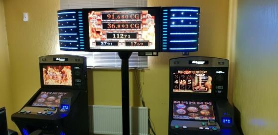 Annonce occasion, vente ou achat '2 Machines a sous BALLY et son jackpot'
