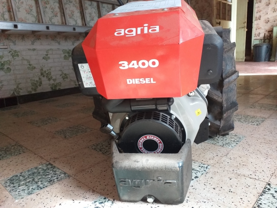 Motoculteur Agria 3400 diesel - Photo 3