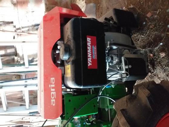 Motoculteur Agria 3400 diesel - Photo 4