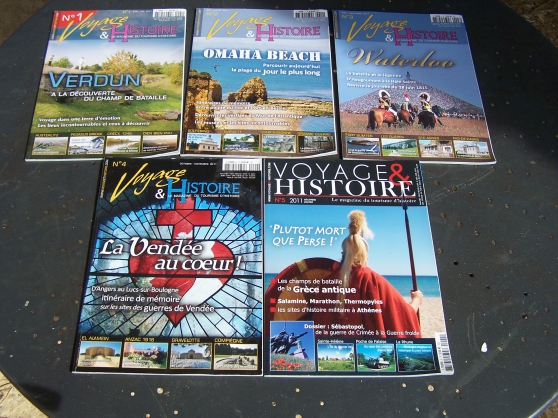 Annonce occasion, vente ou achat 'Revue Voyage et Histoire'
