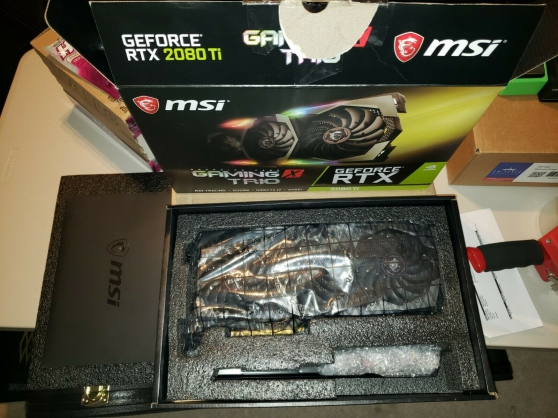 MSI GeForce RTX 2080 Ti GAMING X TRIO - Photo 3