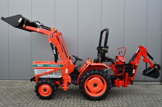 Annonce occasion, vente ou achat 'Micro tracteur Chargeuse / pelle Kubota'