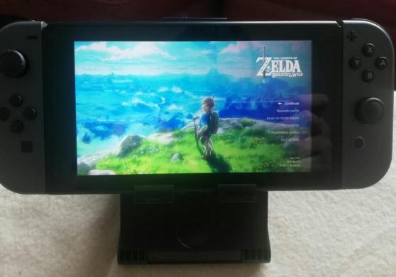 Nintendo SWITCH + ZELDA Breath of the Wi - Photo 3