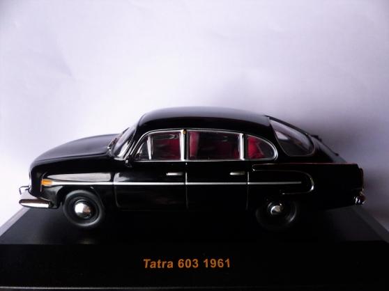 Annonce occasion, vente ou achat 'TATRA 603 miniature IXO 1/43ème'