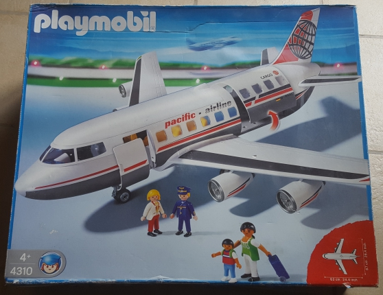 Playmobil 4310 Avion cargo pacific