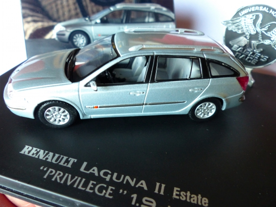 Annonce occasion, vente ou achat 'RENAULT LAGUNA II ESTATE EAGLE 1/43ème'
