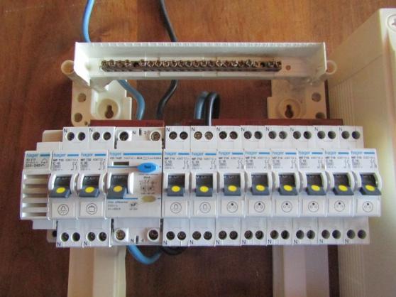 tableau electrique disjoncteurs 2 rangs - Photo 2