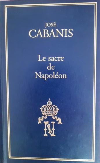Annonce occasion, vente ou achat 'Le Sacre de Napoléon.'