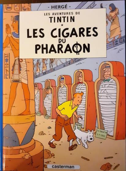 """Les Cigares du Pharaon""."