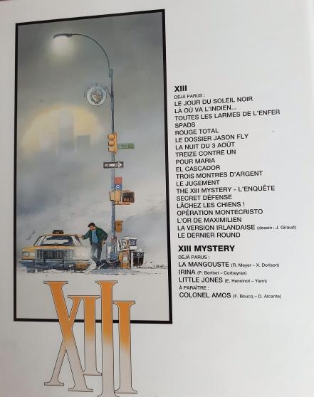 """Un album de \""""XIII\"""" : \""""Le jour du soleil - Photo 2"""