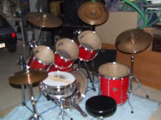 batterie pearl export series rouge 6futs musique. Black Bedroom Furniture Sets. Home Design Ideas