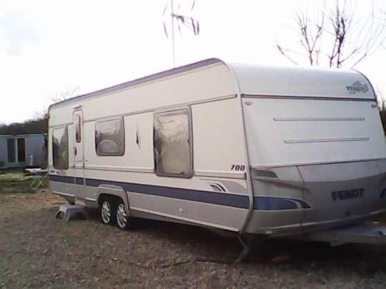 caravane fendt 7m 2007