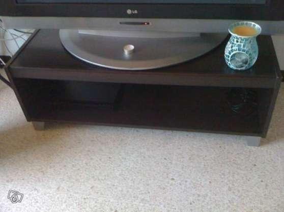 meuble télé wengé