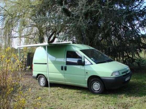 fourgon jumpy citro n am nag camping ca caravanes. Black Bedroom Furniture Sets. Home Design Ideas