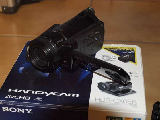 sony hdr cx6