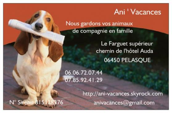 garde animaux de compagnie en famille - Annonce gratuite marche.fr