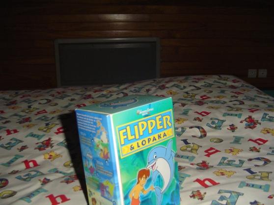 Coffret 3 cassettes Flipper le Dauphin