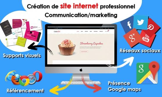 Annonce occasion, vente ou achat 'Création de site internet, communication'