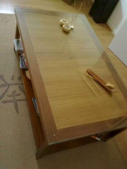 Annonce occasion, vente ou achat 'Table de salon et fauteuils style colon'