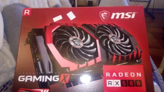 Annonce occasion, vente ou achat 'MSI Carte Graphique Radeon RX 580 Gaming'