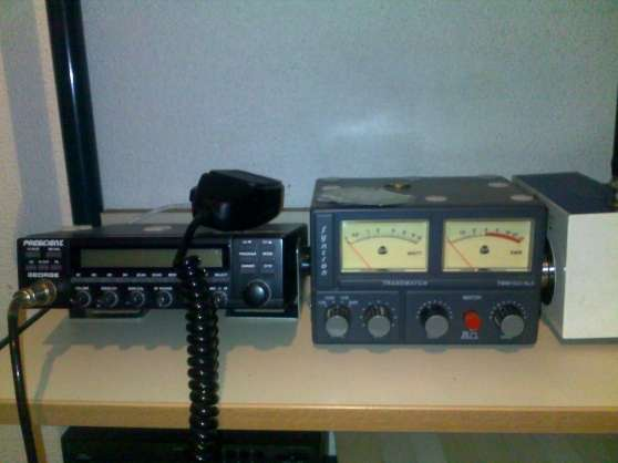 Annonce occasion, vente ou achat 'CB PRESIDENT GEORGE RADIOAMATEUR ANTENNE'