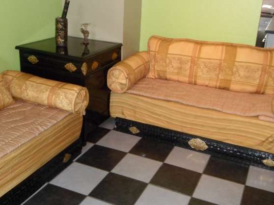 Salon marocain vaulx en velin meubles d coration for Meuble contre canape