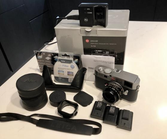 Annonce occasion, vente ou achat 'Leica M9 gris et objectif Summicron 2/35'