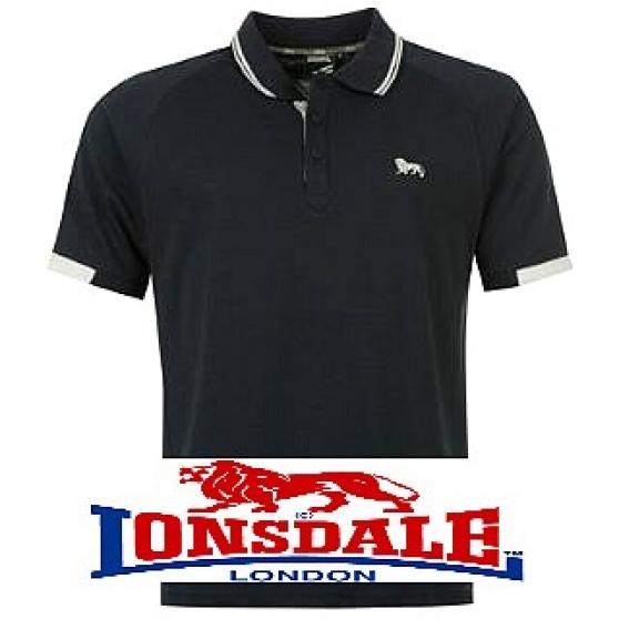 Polo Homme Lonsdale NEUF Bleu Marine