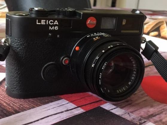 Annonce occasion, vente ou achat 'Leica M6 et summicron 50mm'