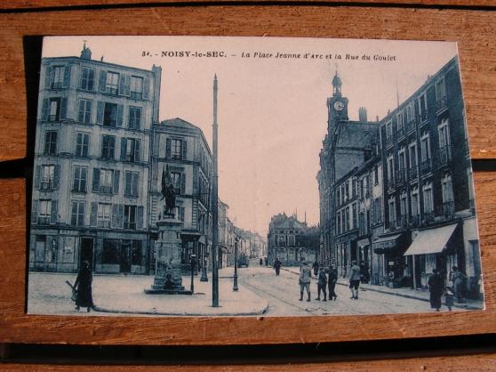 Ancienne carte postale Noisy-le-Sec.
