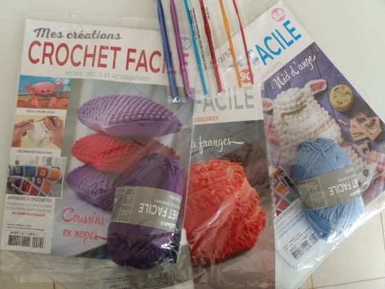 Annonce occasion, vente ou achat 'Crochet apprendre faire mode jouet deco'